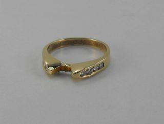 14 Karat Handmade Solid Yellow Gold 14kt Semi Mount Diamond Ring