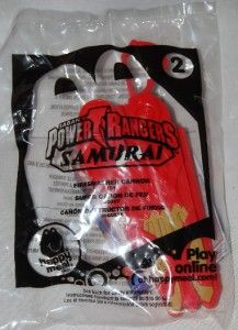 McDonalds 2011 Power Rangers Samurai Firesmasher Cannon 2 Toy