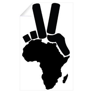 Wall Art  Wall Decals  Africa Peace Sign Wall Decal