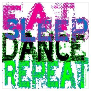 Wall Art  Posters  Eat Sleep Dance Repeat Poster