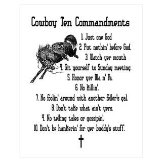 Ten Commandments Posters & Prints