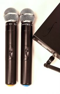 Technical Pro WM1201 Karaoke DJ Dual Wireless Microphone System UHF