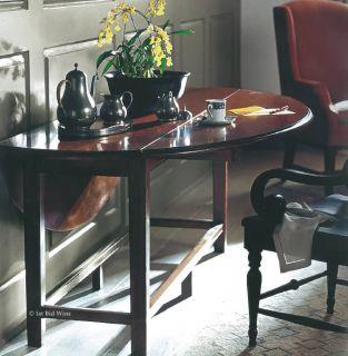 Bernhardt Martha Stewart Cannondale Drop Leaf Dining Table Chair Set