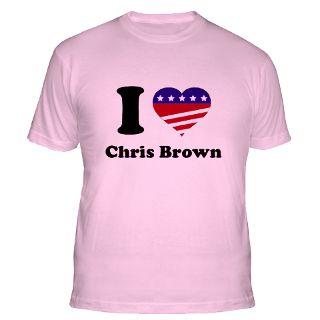 Love Chris Brown T Shirts  I Love Chris Brown Shirts & Tees