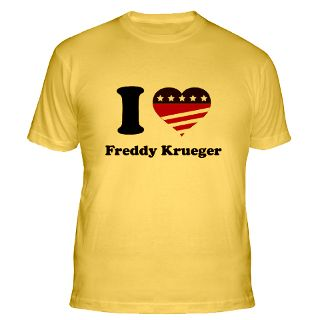 Love Freddy Krueger T Shirts  I Love Freddy Krueger Shirts & Tees