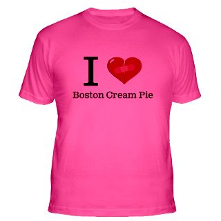 Love Boston Cream Pie Gifts & Merchandise  I Love Boston Cream Pie