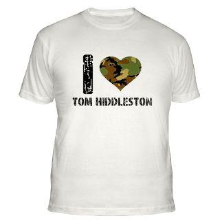 Love Tom Hiddleston T Shirts  I Love Tom Hiddleston Shirts & Tees