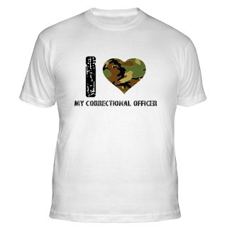 Love My Correctional Officer Gifts & Merchandise  I Love My