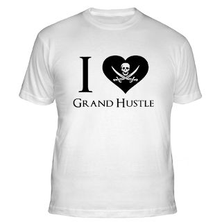 Love Grand Hustle Gifts & Merchandise  I Love Grand Hustle Gift