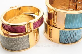 1K Kara Ross 4 Piece Gold Metal Cuff Animal Bracelet Jewelry Repair