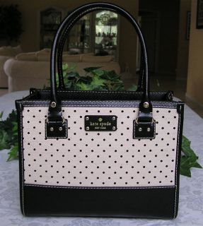 New Kate Spade Belltown Quinn Bag Purse Tote Black