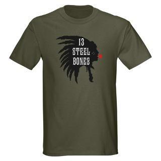 13 STEEL BONES DESIGN 3014 T Shirt