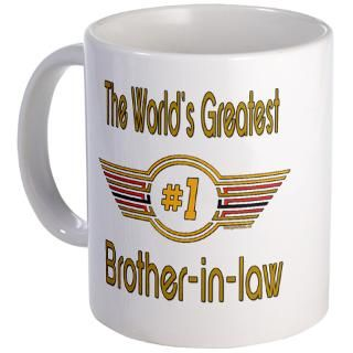 Number 1 Brother in law Mug