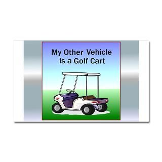 Gifts  Back Nine Car Accessories  Golf cart Car Magnet 20 x 12