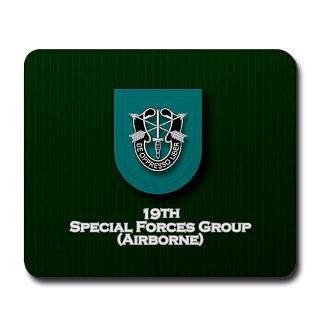 19th special forces group airborne mousepad $ 19 00