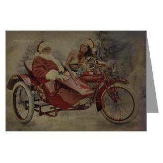 Biker Greeting Cards  Rat Rod Studios Christmas Cards 23(Pk of 10