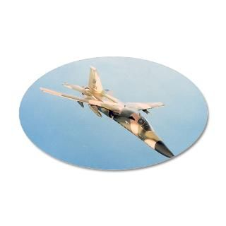Air Force Gifts  Air Force Wall Decals  Jet Fighter 22x14 Oval