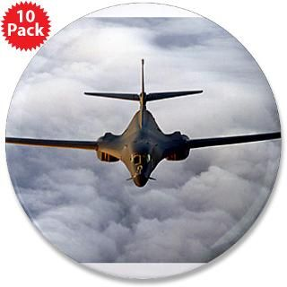 Air Force Gifts  Air Force Buttons  B 1 Lancer Rides the Clouds 3