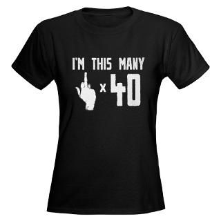 Funny 40Th Birthday T Shirts  Funny 40Th Birthday Shirts & Tees