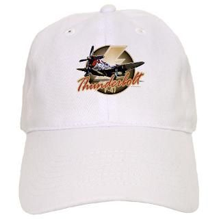 Force Gifts  Air Force Hats & Caps  Thunderbolt P 47 Baseball Cap