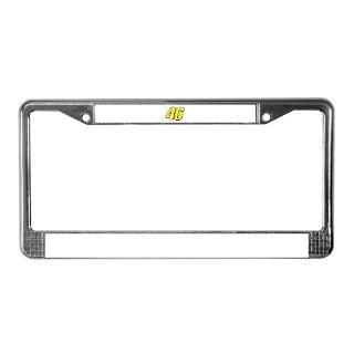 VR 46 Redline License Plate Frame for $15.00