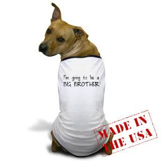 Air Force Gifts  Air Force Pet Apparel  Big Brother Dog T Shirt