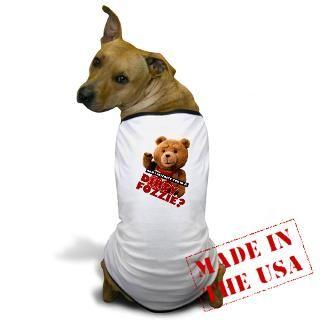 Tedisreal Gifts  Tedisreal Pet Apparel  Dirty Fozzie Dog T Shirt