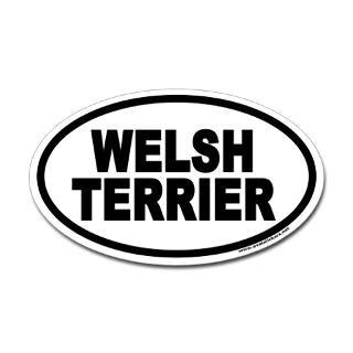 welsh terrier euro oval sticker $ 4 49