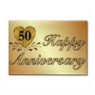 50 Wedding Anniversary Magnet  Buy 50 Wedding Anniversary Fridge