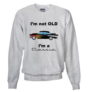 classic 57 chevy hot rod Sweatshirt