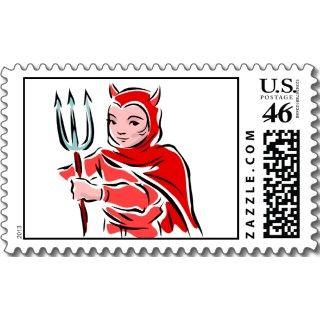 Halloween Costume Parties Invites stamps by HalloweenGiftFun