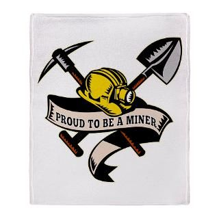 coal miner mining Stadium Blanket for $59.50