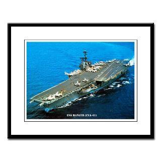 Framed Prin  USS RANGER (CVA 61) SORE  USS RANGER (CVA 61) SORE