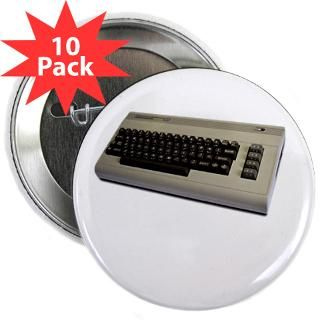 Gifts  Buttons  Commodore 64 2.25 Button (10 pack)