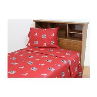 Alabama Crimson Tide Printed Sheet Set   Twin for $65.99
