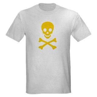yellow skull x bones light t shirt $ 17 66