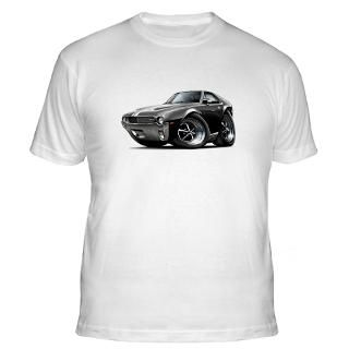 1968 69 AMX Black White Car Shirt