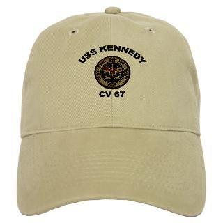 USS John Kennedy CV 67 Baseball Cap