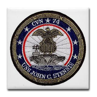 USS John Stennis CVN 74 Tile Coaster for $12.50