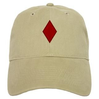5Th Infantry Division Red Diamond Hat  5Th Infantry Division Red