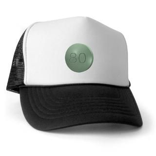 80 Gifts > 80 Hats & Caps > Oxycontin 80mg Green Pill Trucker Hat