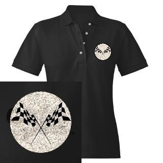 Checkered Flag Polo Shirt Designs  Checkered Flag Polos