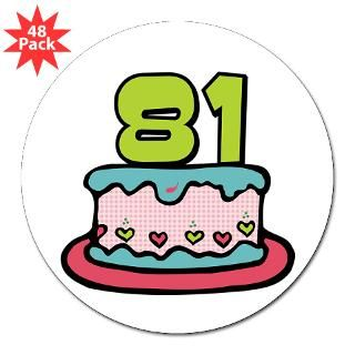 Happy 81St Birthday Stickers  Happy 81St Birthday Bumper Stickers