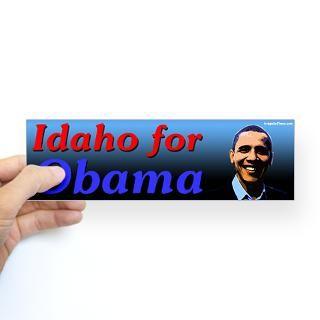 Idaho  50 State Political Campaign Bumper Stickers