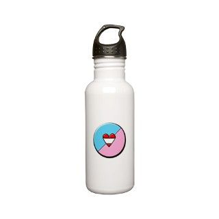 Ab Gifts > Ab Drinkware > AB/DL Symbol Stainless Steel Water Bottle