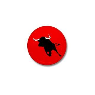 Spanish bull Large Button (10 pack)