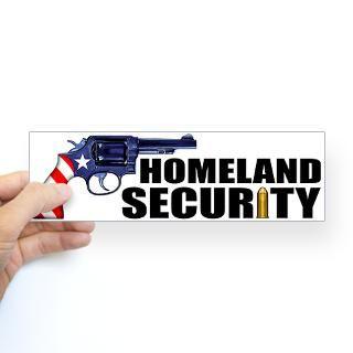 homeland security bumper sticker sticker bumper $ 4 99