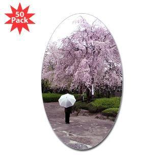 cherry blossoms umbrella rectangle sticker 50 pk $ 97 19 cherry