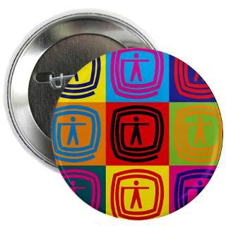 Occupational Therapy Pop Art 2.25 Button