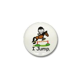 Horse Jumping  BusyBodies Stick Figure T shirts and unique Gifts